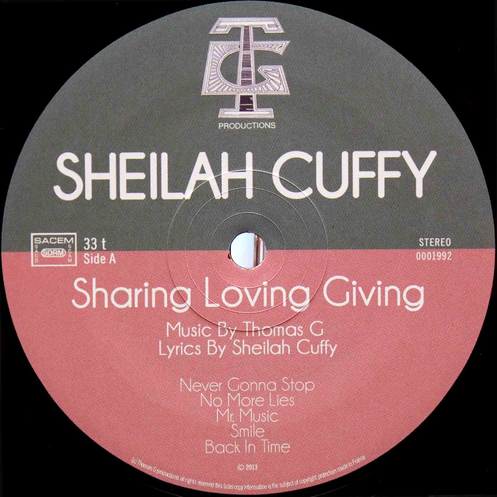Thomas G Sheilah Cuffy – Sharing Loving Giving 04