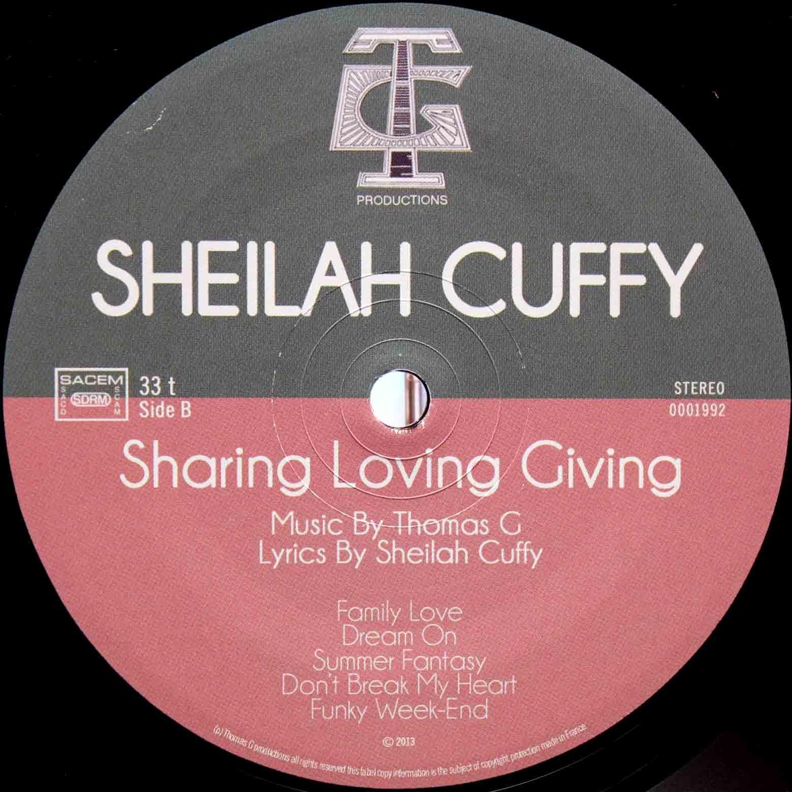 Thomas G Sheilah Cuffy – Sharing Loving Giving 05