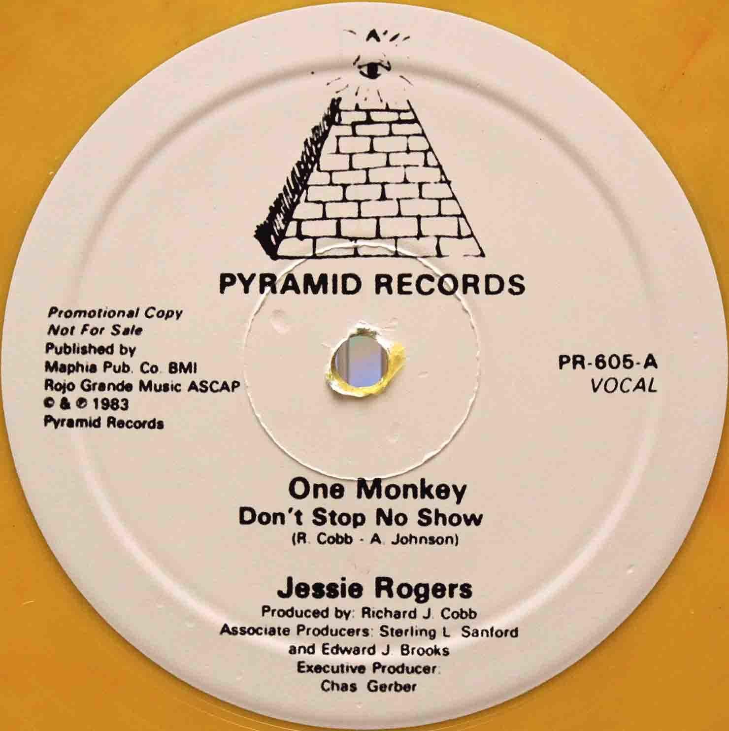 Jessie Rogers – 再発 One Monkey Dont Stop No Show 01