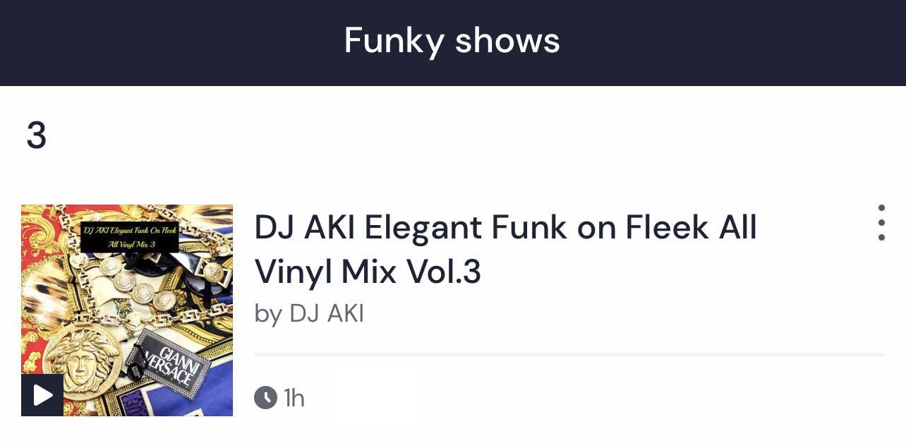 Funky 3位