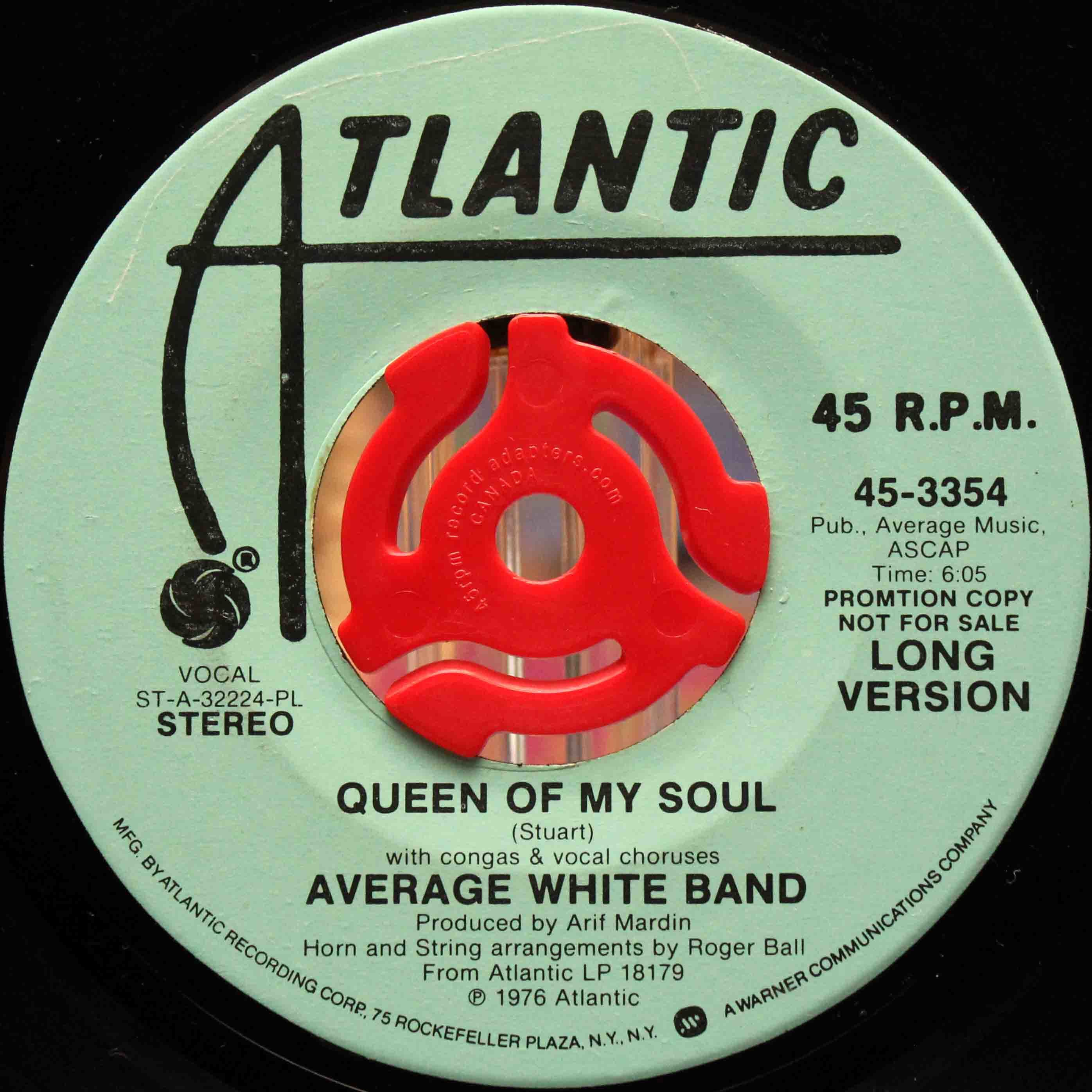 Average White Band – Queen Of My Soul 03