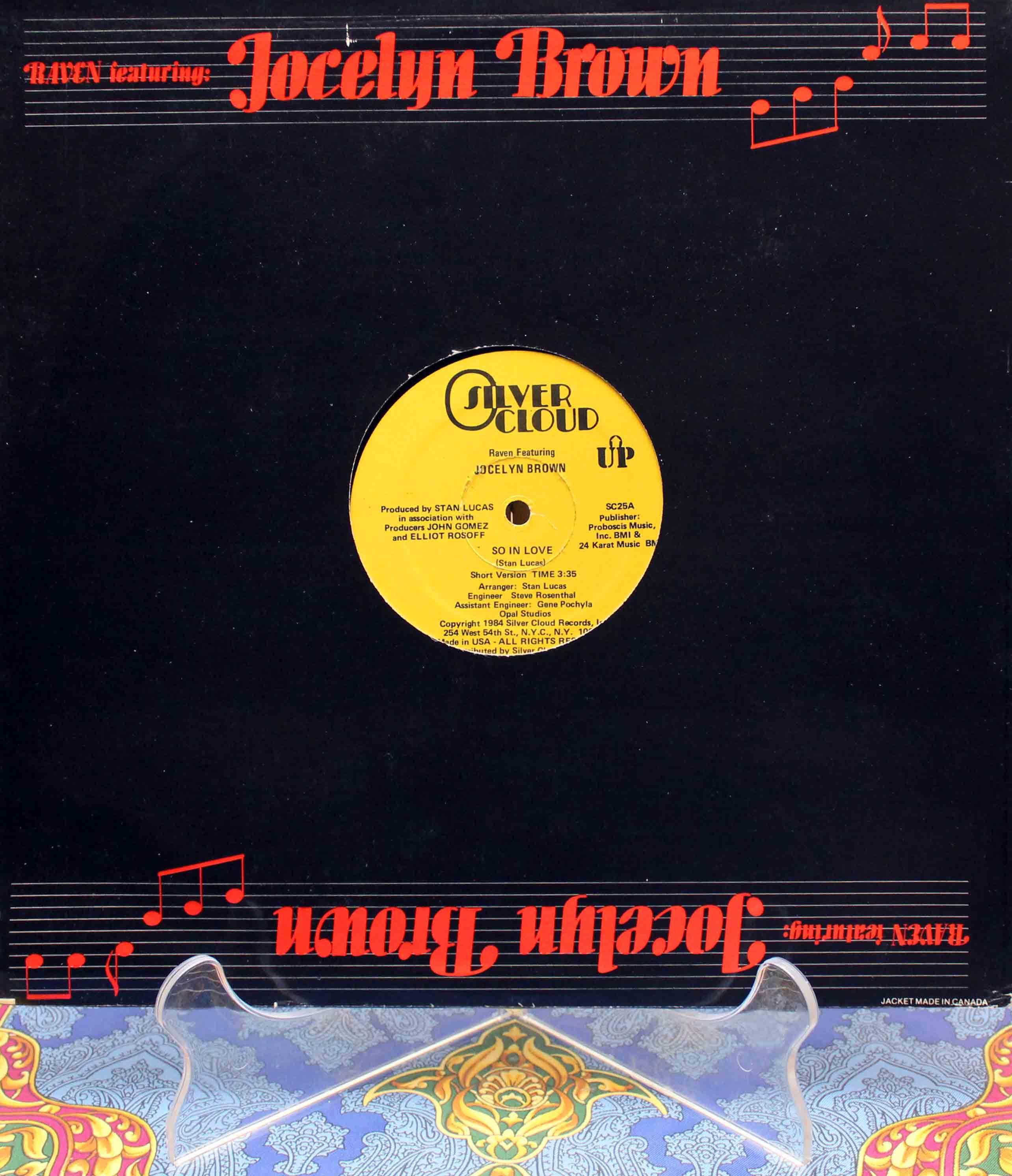 Raven Featuring Jocelyn Brown – So In Love 02