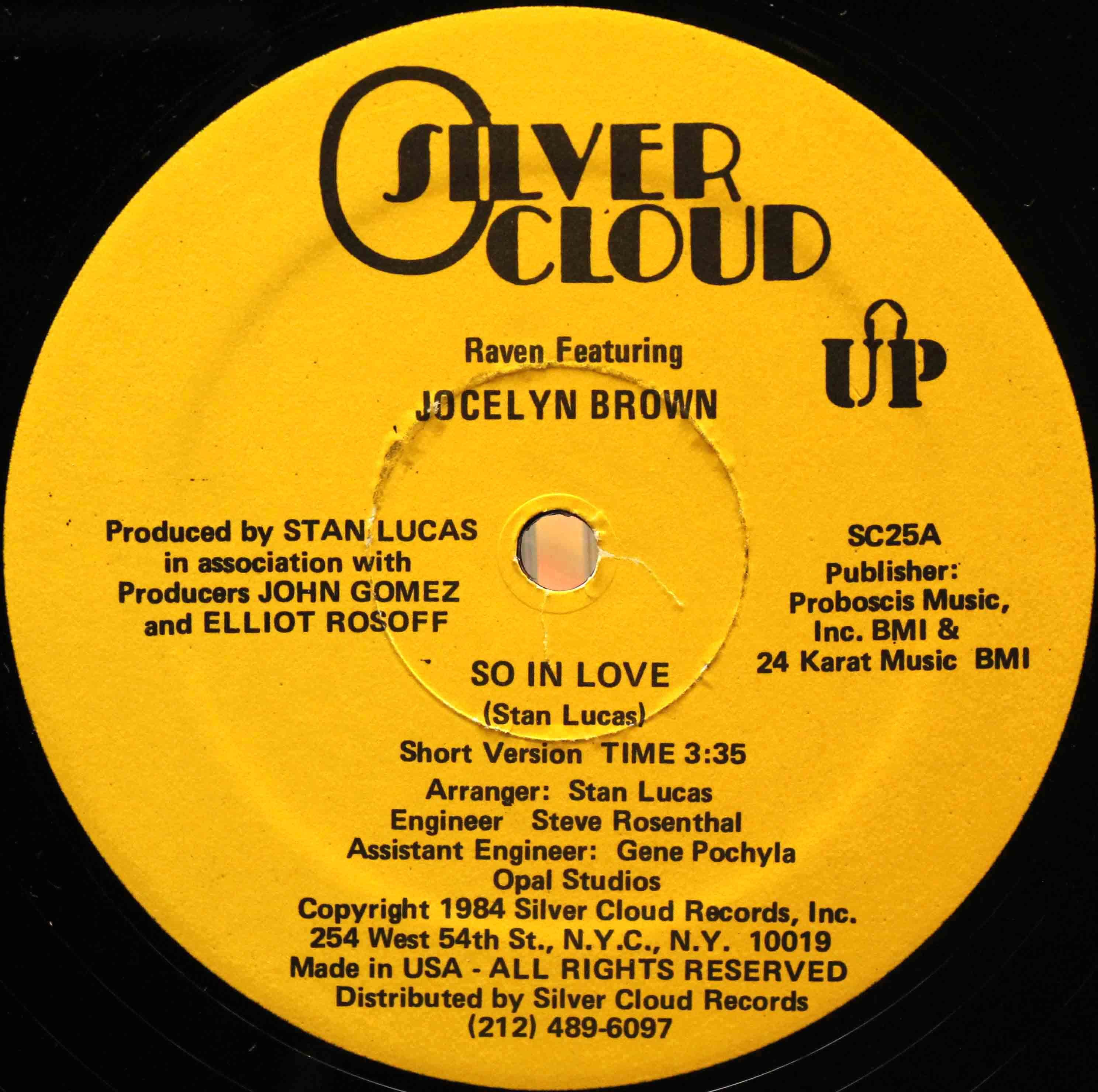 Raven Featuring Jocelyn Brown – So In Love 04