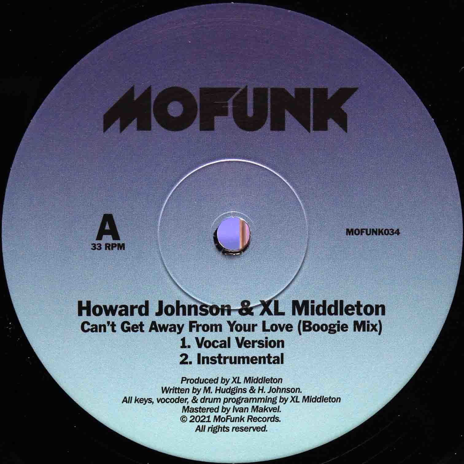 XL Middleton Cant Get Away From Your Love (Boogie Mix) 03