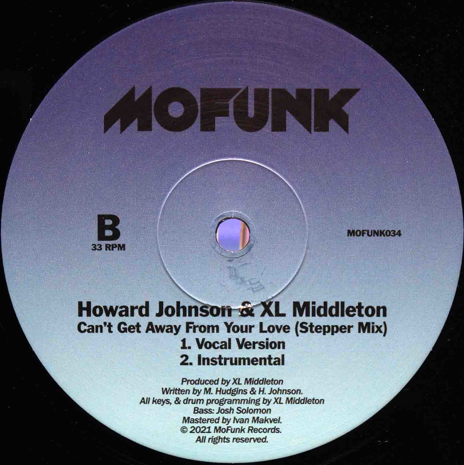 XL Middleton Cant Get Away From Your Love (Boogie Mix) 04