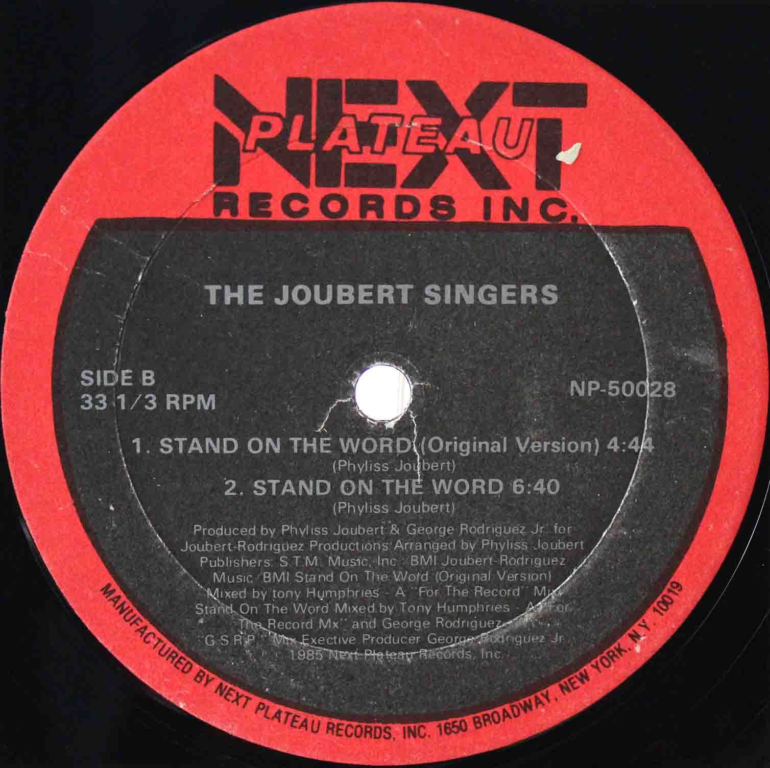 The Joubert Singers – Stand On The Word 04