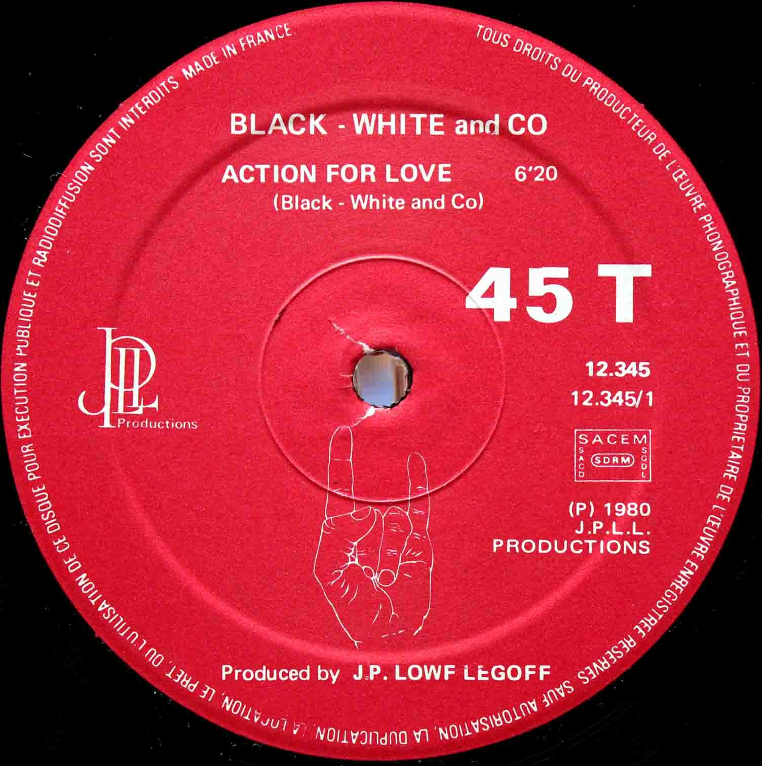 Black White And Co – Action For Love France 03