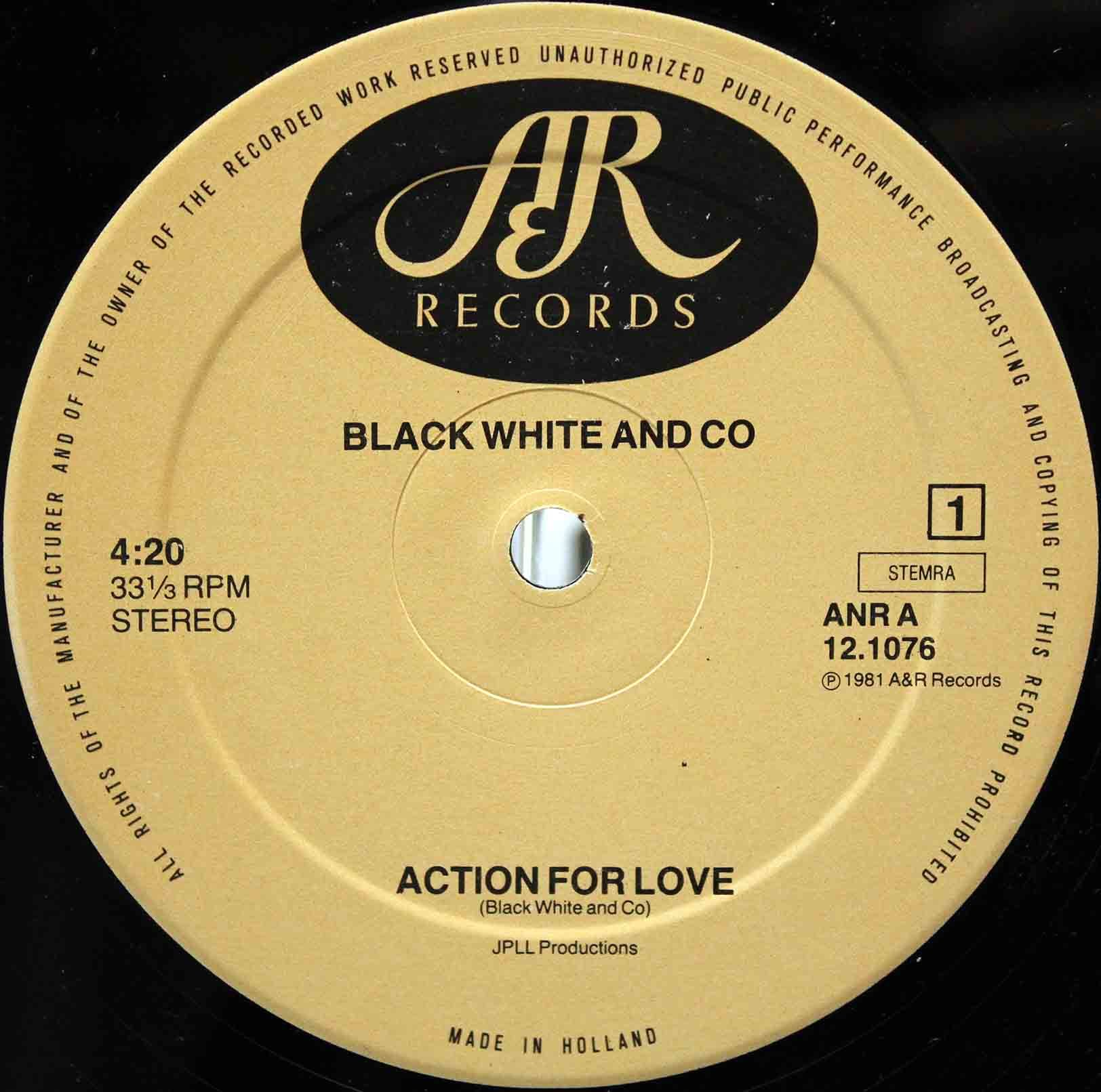 Black White And Co – Action For Love 03
