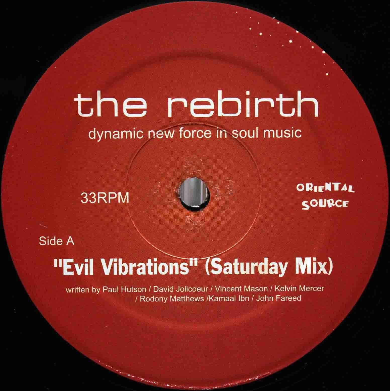 The Rebirth Evil Vibrations (Saturday Mix) 03