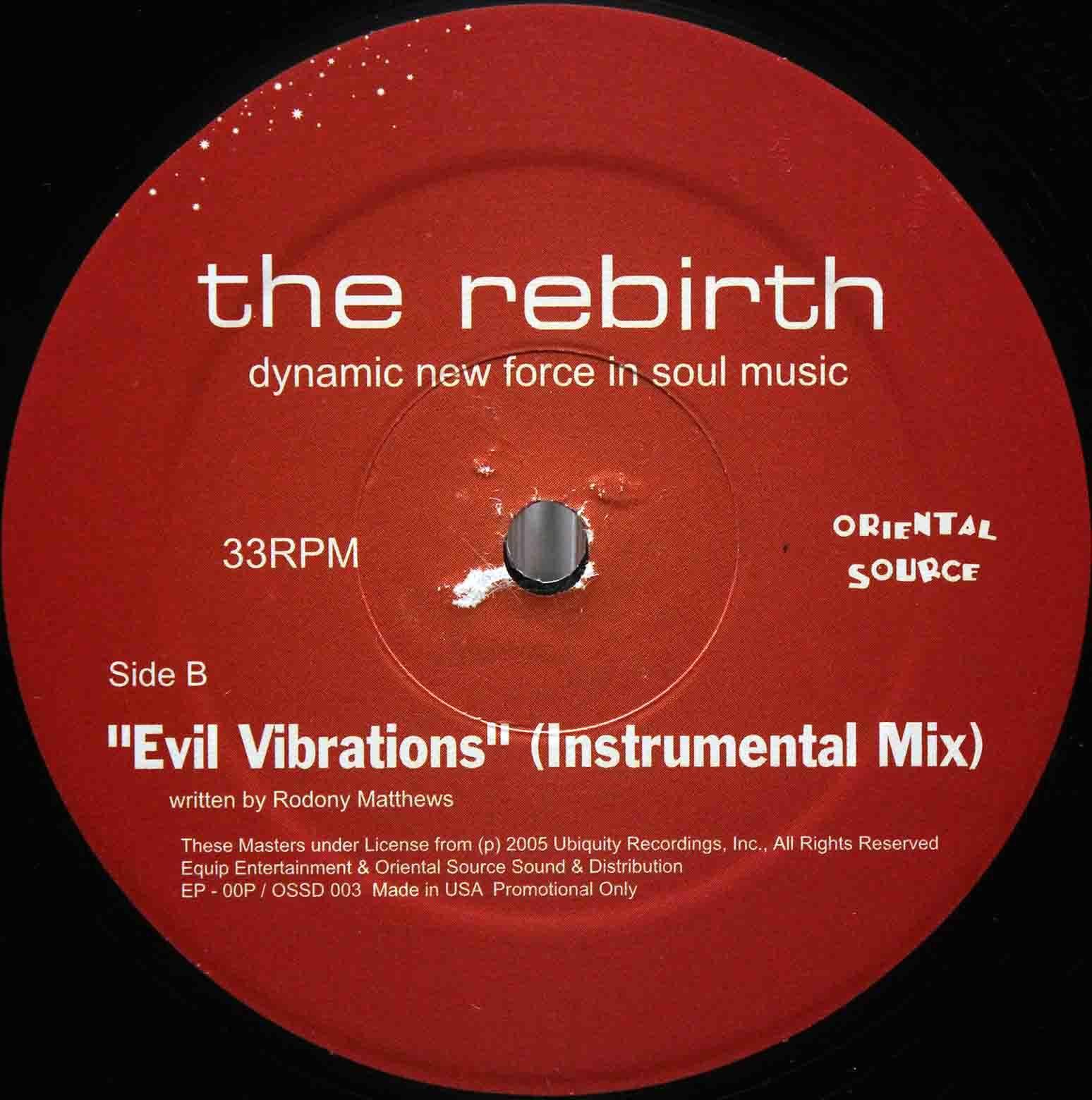 The Rebirth Evil Vibrations (Saturday Mix) 04