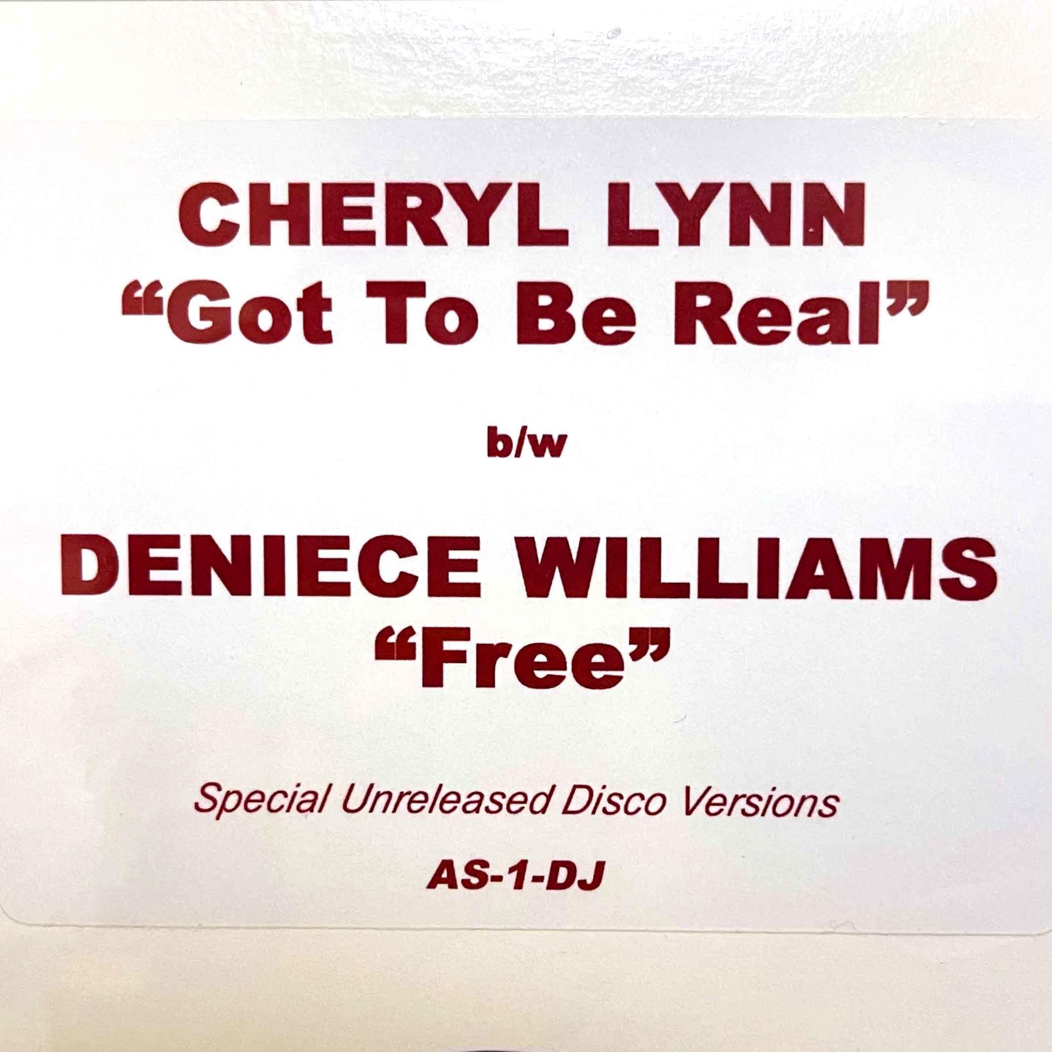 Cheryl Lynn – Got To Be Real (Remix) 00