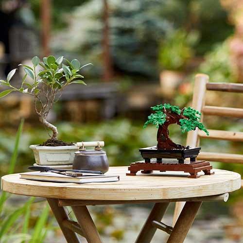 〔癒し系おもちゃ〕レゴで盆栽が楽しめる「LEGO Bonsai Tree」