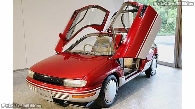 1989年の第28回東京モーターショー「AXV-II」