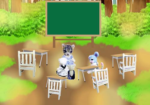 卒業 教室5a