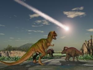 「恐竜絶滅の原因は隕石衝突」説