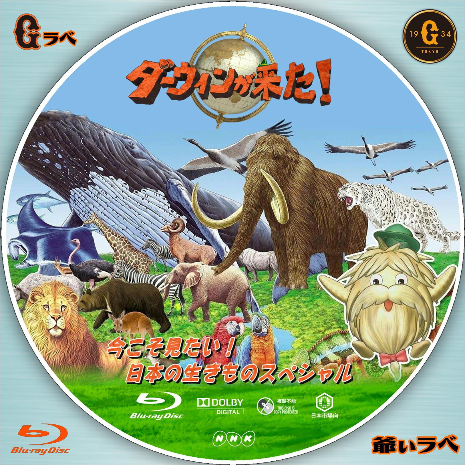 ダーウィンが来た! 今こそ見たい! 日本の生きものSP(Blu-ray)