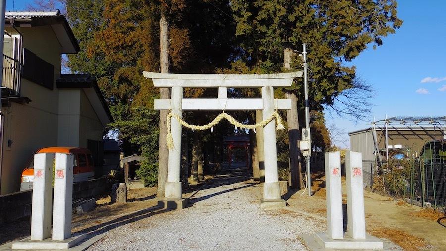 おさん塚と星宮神社と上総堂1