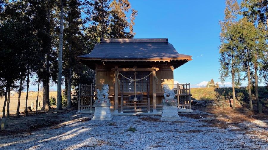 おさん塚と星宮神社と上総堂3