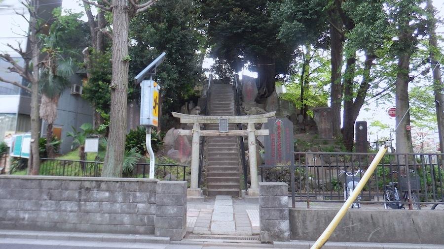 北区「富士塚古墳」2-1