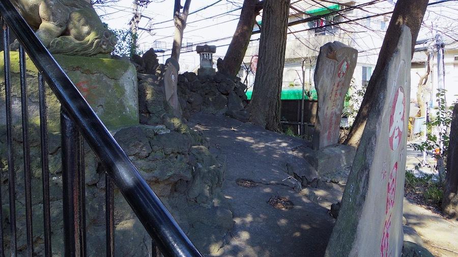 北区「富士塚古墳」2-5