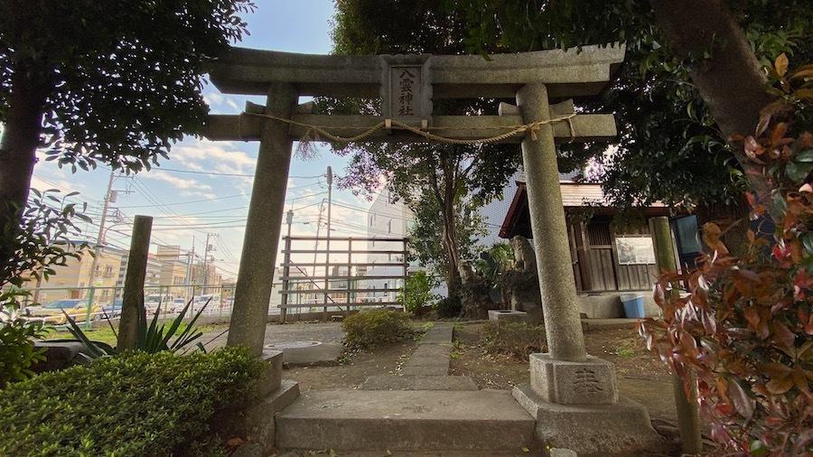 北区 八雲神社1