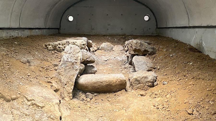 北区「赤羽台第3号古墳石室」3