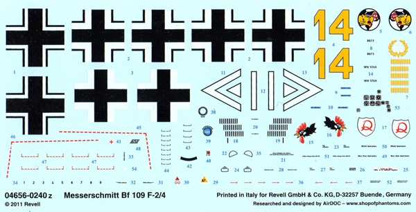 Revell Decal
