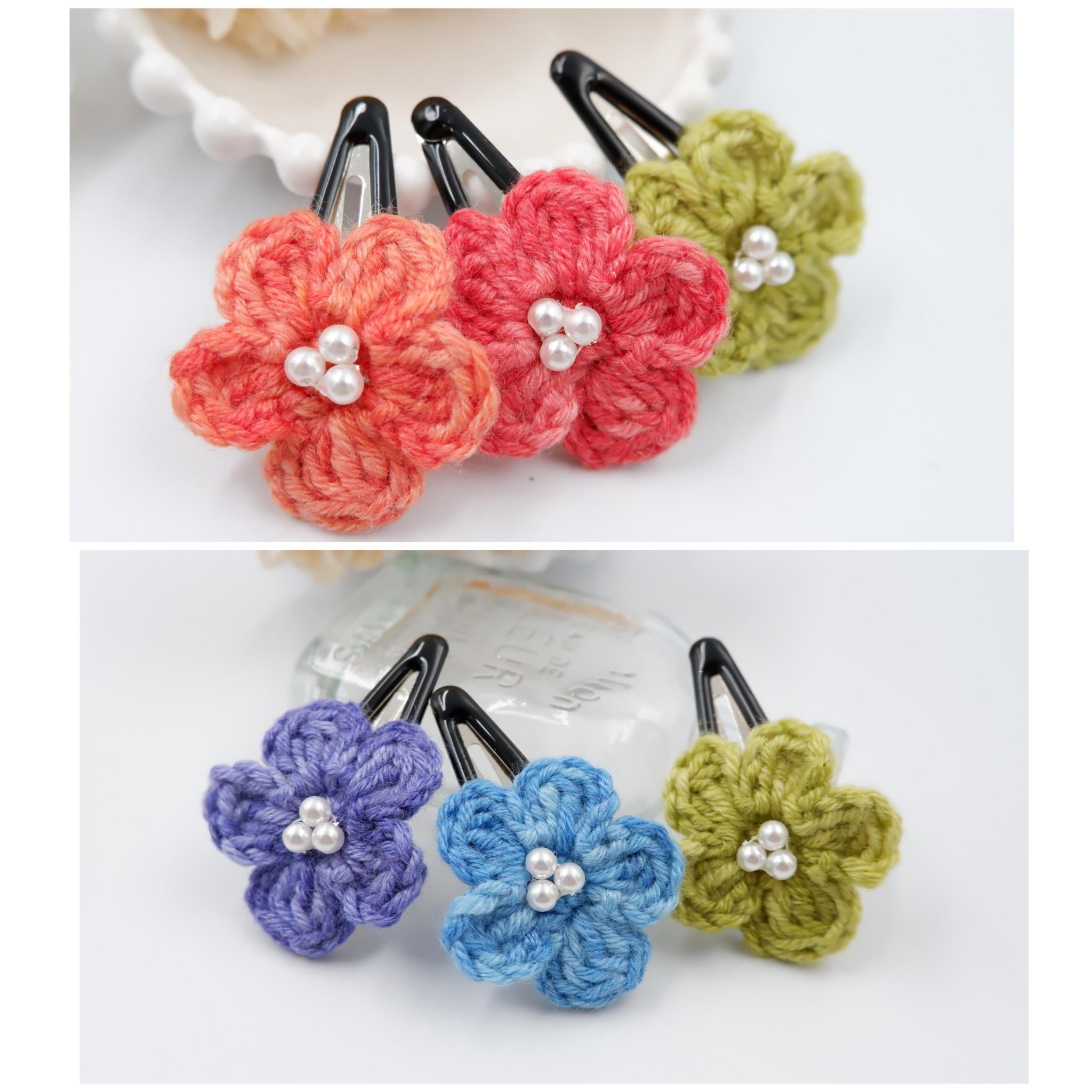 手編み雑貨 HanahanD ヘアピン セット 福袋