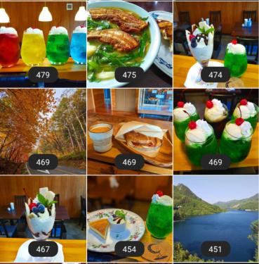 2020年草津温泉カフェ花栞(はなしおり)インスタグラム(Instagram)ベスト90-2
