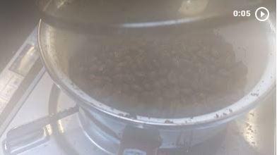 20210305草津温泉カフェ花栞(はなしおり)コーヒー豆自家焙煎1ハゼ