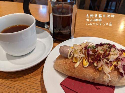 20210203長野県軽井沢町、丸山珈琲ハルニレテラス店