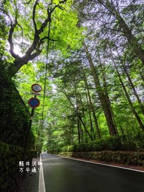 20210623長野県軽井沢町、万平通り2