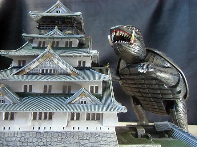 ガメラと大阪城