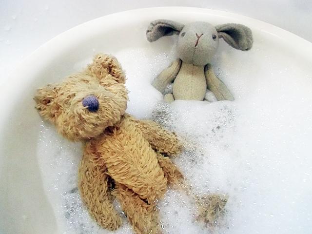 ぬるま湯でお風呂