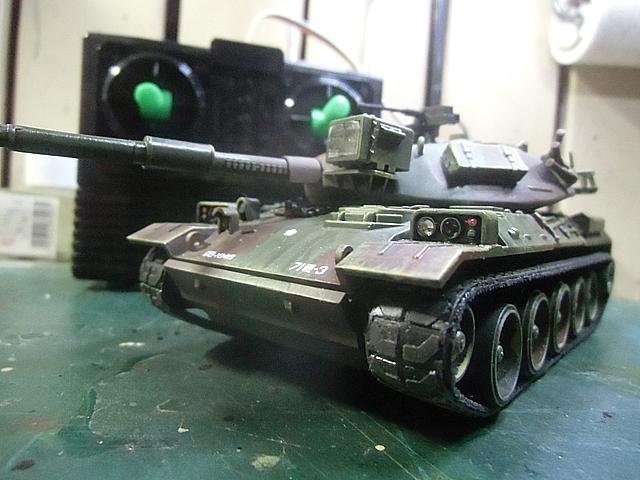 24-74式戦車完成