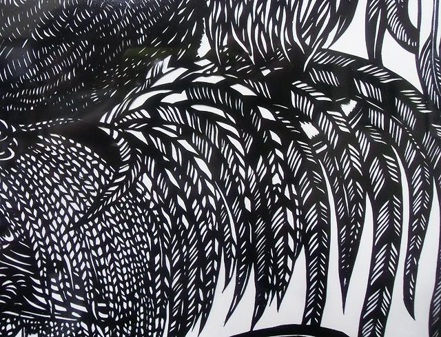 尾羽の彩り