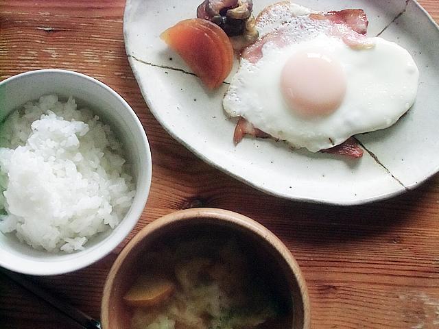 朝ごはん昭和風