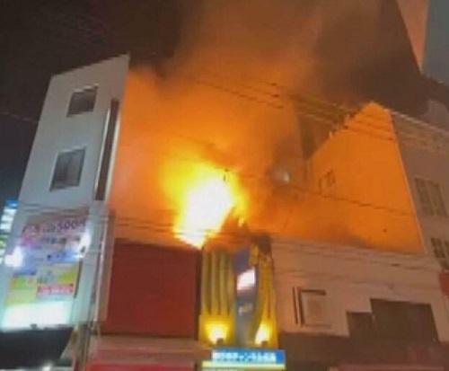 2021年7月31日 広島市歓楽街火事