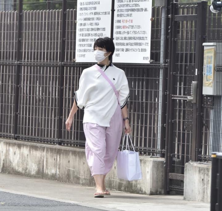 河井案里氏 東京拘置所訪問