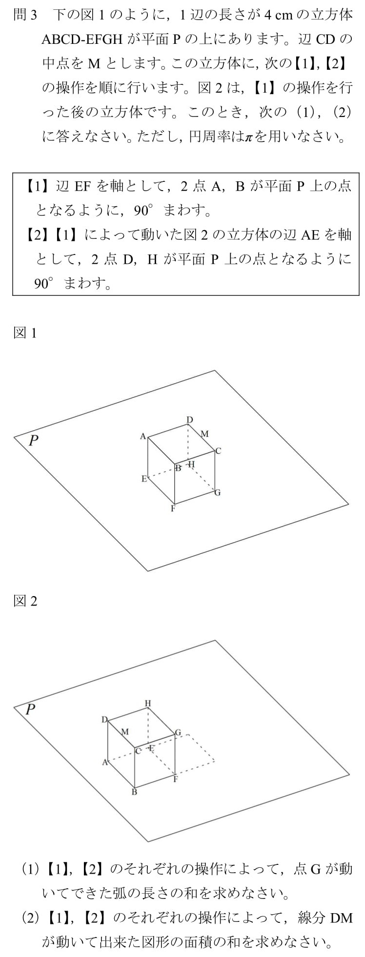 2010 北海道 高校入試 数学 裁量問題 解説 難問