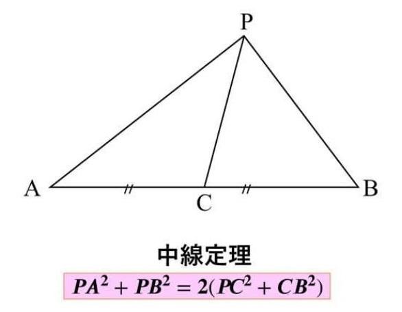 中線定理 証明①
