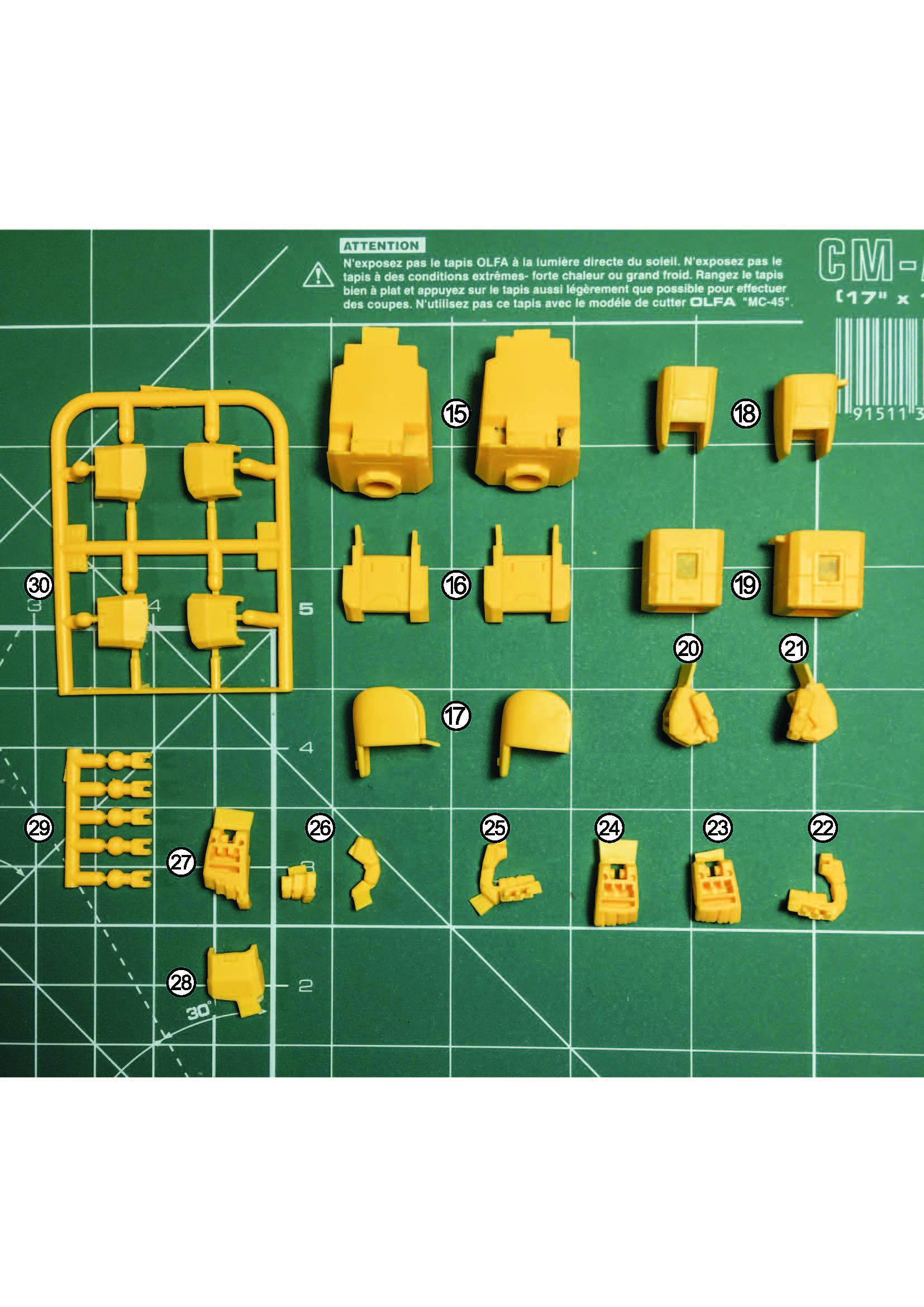 MG RX-79[G]Ez-8 ガンダムEz8 ガレージキット 取扱説明書_ページ_03