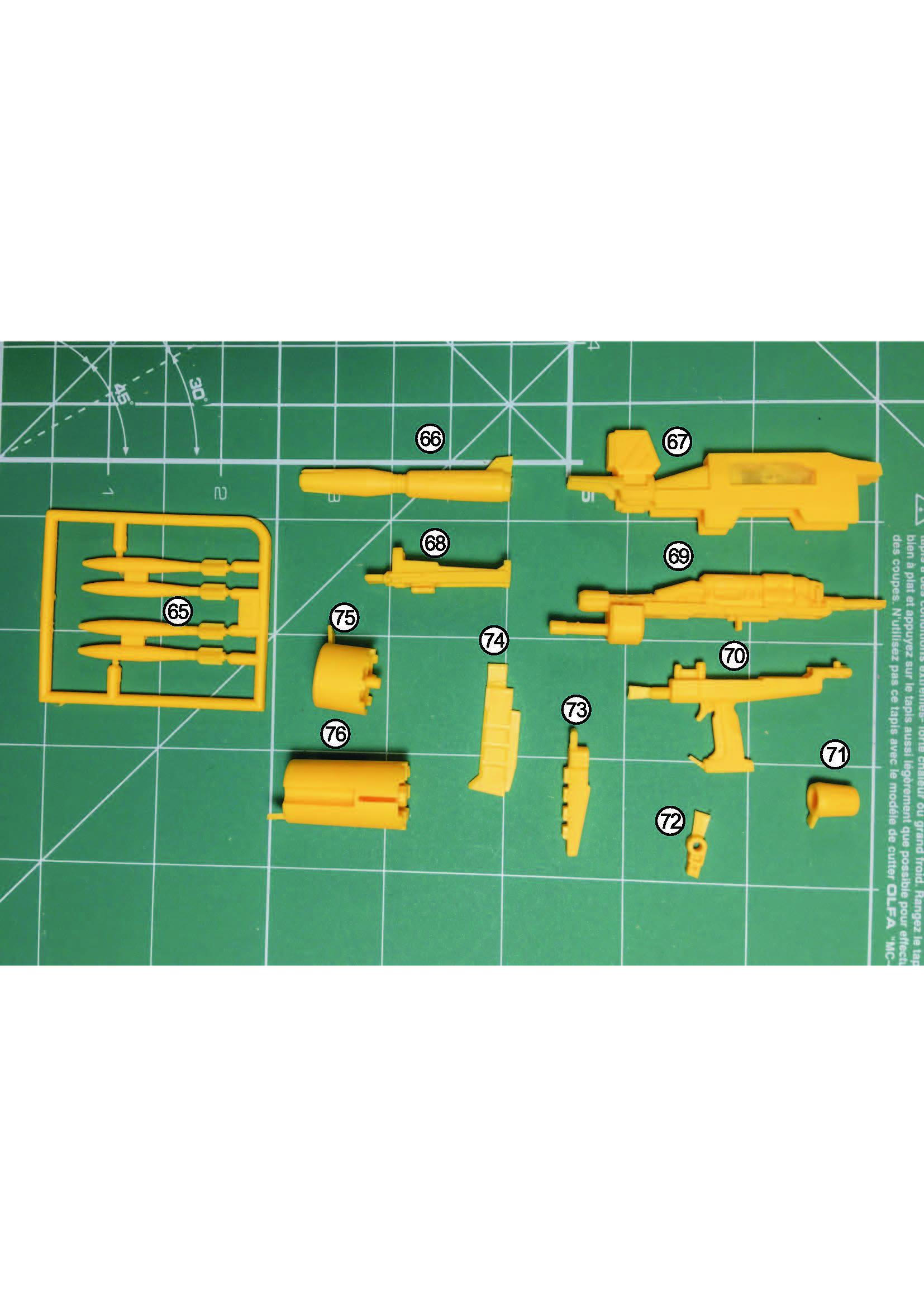 MG RX-79[G]Ez-8 ガンダムEz8 ガレージキット 取扱説明書_ページ_06
