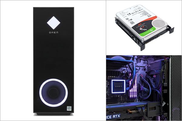 OMEN by HP 30L Desktop_ストレージの増設_01