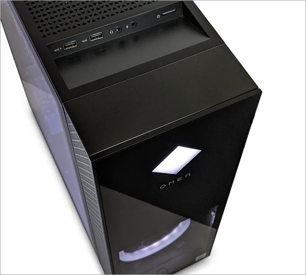OMEN by HP 30L Desktop GT13_フロントパネル_20201030_001414598tw