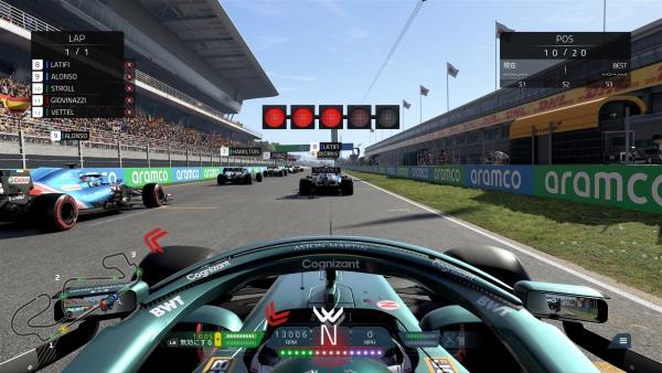 F1 2021 Screenshot_ベンチマーク