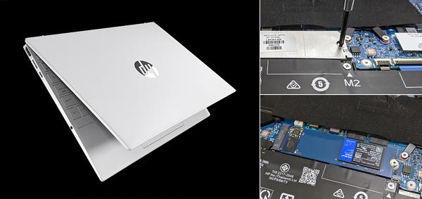 HP Pavilion Aero 13-be_SSDの換装_210916