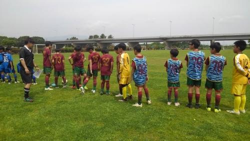 U12 クラブ新人戦 予選。