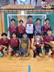 U12 バーモントカップ 岐阜県大会。