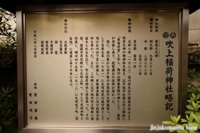 吹上稲荷神社  文京区大塚3